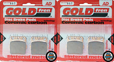 Arctic Cat DVX 400 Front Sintered Brake Pads 2004-2008 - Goldfren - DVX400