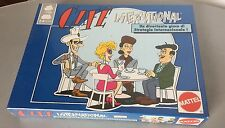 1989# VINTAGE MATTEL BOARD GAME GIOCO CAFE' INTERNATIONAL# FACTORY SEALED