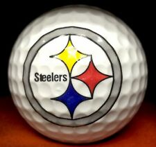 NFL PITTSBURGH STEELERS LOGO GOLF BALL FAN GIFT Football Collect Display
