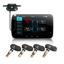 For All Android Car Dvd Tire Pressure Monitoring System 4 Interior Sensors