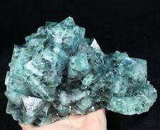 4640g Pure Natural Power Blue Octahedral Fluorite Display Specimen ChinaCM481610
