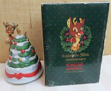 Rudolph's 50th Anniversary The Most Famous Reindeer Of All Music Box The Good Co