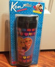 Barbie and Ken Good Morning Kiss 14oz Travel Coffee Mug NIP