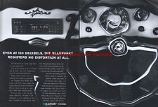 "Blaupunkt ""100 Decibels"" 1994 Magazine Advert #699"