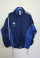 VTG FESTIVAL SPORTSWEAR ZIPUP ATHLETIC ADIDAS RAIN MAC CAGOULE WATERPROOF COAT M