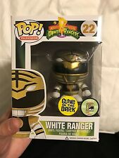 SDCC 2013 Funko Pop! Exclusive Power Rangers White Ranger Glow in the Dark MINT