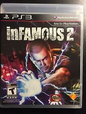 inFAMOUS 2 ii Sony PlayStation 3 - Action, 1 Game, Complete SEALED BRAND NEW