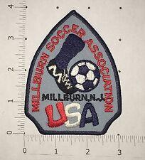 Millburn Soccer Association Patch - Vintage - New Jersey