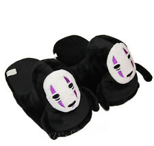 Anime Spirited Away Faceless Man Adult Home Warm Plush Slipper