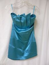 """JENNIFER LOVE HEWITT PRODUCTION WORN TURQUOISE DRESS FROM """"THE CLIENT LIST""""!"""