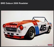 BRE Datsun 2000 Roadster Car Poster New! Own It!