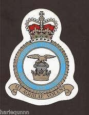 ROYAL AIR FORCE SUPPORT COMMAND CREST DECAL STICKER 4.5 X 3 INCHES