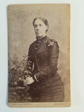 Victorian Carte De Visite CDV Photo - Mallon - Liverpool - Lady