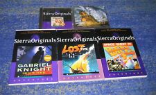 Sierra Adventure Sammlung Space Quest, Gabriel Knight, Lost 1 + 2 usw.
