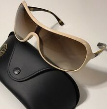 NWT RAY BAN Men's RB 4086 721/13 SHIELD BROWN GRADIENT SUNGLASSES