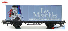 Marklin HO 4481 Container Car Les Miserables 96704