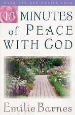 15 Minutes of Peace with God by Emilie Barnes (2003, Paperback)