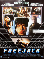 Affiche 120x160cm FREEJACK 1992 Emilio Estevez, Mick Jagger, Anthony Hopkins BE