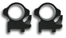 "Tactical Steel 1"" Quick Detach Black Color Scope Ring Mounts Fits Picatinny Rail"