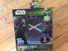 Disney Star Wars 5 puzzles in 1 3D puzzles