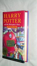 Harry Potter and the Philosopher's Stone by J. K. Rowling (Hardback, 1997) 1ST