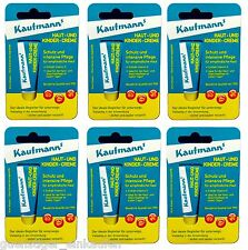 6x 10ml Kaufmanns Skin and Child cream in the Tube PZN:06446903