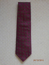 Mens clothing accessories PAOLO ROSSINI silk tie - Red, Classic, Wide.
