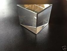 Glass prism (BK7 Quality) Right Angled 38x38mm (UK based - quick delivery -days)