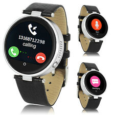 2016 Smart Watch Bluetooth 4.0 Metal Silver For iPhone 6s Galaxy S6 Edge S5 Note