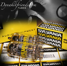 NOS SYLVANIA 6GH8A - MATCHED PAIR - 7199 REPLACEMENT IF USE ADAPTER