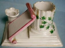 Victorian Figural Match & Candle Holder