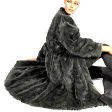 L Nerzmantel Nerz Mantel Pelzmantel Wendemantel reversible mink fur coat VINTAGE