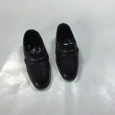 Squishy Black Buckle Loafers Japan Shoes MOD Ken Vintage Barbie