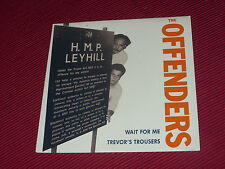 """The Offenders:  Wait for me    1989  Release Records    EX+   7"""""""