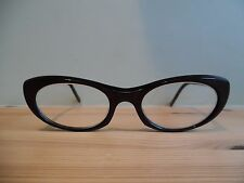 Vintage Plum Ladies Cat Eye Glasses 0-46-20