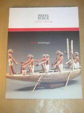 CATALOGUE PIERRE BERGE / ARCHEOLOGIE / VENTE DE 2007 / TRES BON ETAT