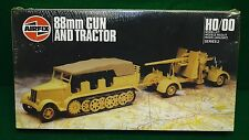 AIRFIX 88MM GUN AND TRACTOR  HO/OO SCALE MIB (K89)