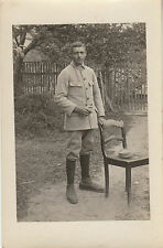 """Photo Ancienne"""" Soldat Prisonnier en Allemagne19ème Régiment   Guerre 39 - 45 """""""