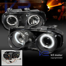 1994-1997 Acura Integra JDM Black Halo Projector Headlights