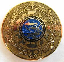 Cavan's Prayer Geocoin - Loaves and Fishes Edition - Sparkle Enamel!