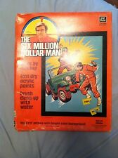 The Six Million Dollar Man Paint by Number Vintage 1975