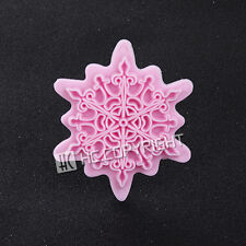 Flower Lace Shape Fondant Cake Sugarcraft Equipment Embosser Cutter Decor Mould