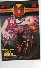 MIRACLEMAN (1985) #2 & 6 NM ECLIPSE ALAN MOORE CLASSIC STORY!