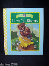 I LOVE YOU RHYMES MOTHER GOOSE 1996 HC BOOK RAINBOW BOOKS