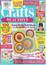 CRAFTS BEAUTIFUL  MAY, 2016   ISSUE,292  ( EASY & STYLISH IDEAS TO STAMP, COLOUR