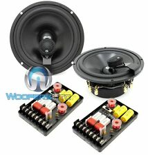 """CDT AUDIO HD-62BRAXIAL 6.5"""" 2-WAY BRAXIAL COAXIAL SPEAKERS WITH HD-6 (HD-63) NEW"""