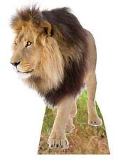 LEÓN - LIFESIZE SILUETA DE CARTÓN / FIGURA PIE Vertical animales zoo gato grande