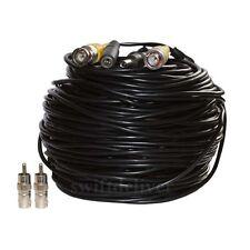 150ft CCTV Surveillance Security Camera BNC Video Power Cable Extension Wire c2d