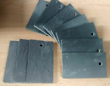 10 7cm SLATE Plant LABELS MARKER - price tags or ID tags garden, home, business