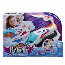 Brand New NERF Rebelle Super Soaker TRI THREAT Water Pistol BLASTER